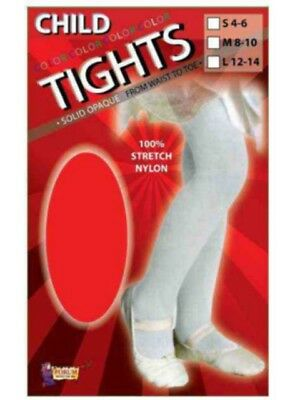 Girl/Child SIze Tight Red  Assorted Sizes Stretch Nylon Dance Theater 11 Pairs