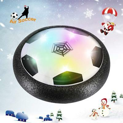 Hover Soccer Football Ball Disk Kids Led Toys Air Power Goals Light Game Indoor