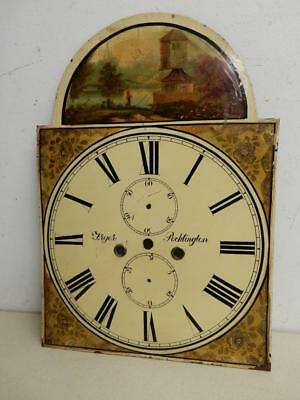 REALLY OLD CLOCK FACE antique FRYER  POCKLINGTON