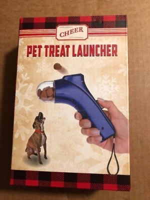 Pet Treat Launcher for Dog or Cat; training & fun treats by Cheer, Gift item