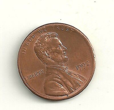 1992 Ddr Lincoln Memorial Penny Doubled Die