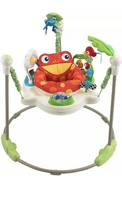 Fisher-Price Rainforest Jumperoo / Jumper - K6070 - NO Doorway Required (USED)