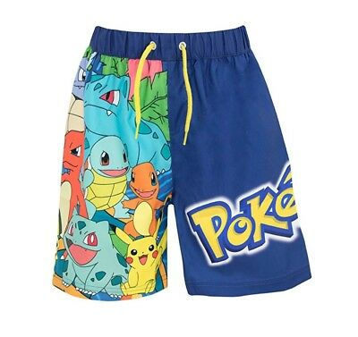 Pokemon swim trunks
