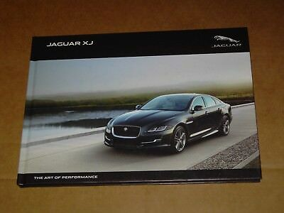 2016 2017 Jaguar Xj Hardcover Book Sales Brochure Mint! 92 Pages
