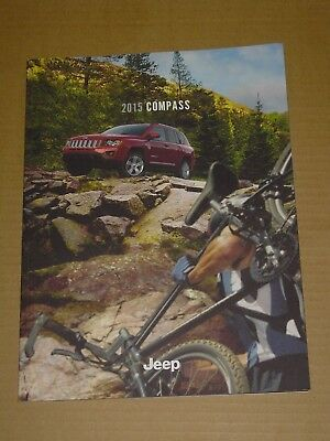 2015 Jeep Compass Sales Brochure Mint! 30 Pages