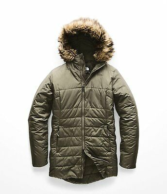 ce2bfd307c3 NWT THE NORTH Face Women's Novelty Harway Vest Grey Herringbone SZ ...