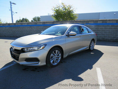2018 Honda Accord Sedan LX CVT LX CVT 4 dr Sedan CVT Gasoline 1.5L 4 Cyl