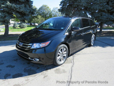 2016 Honda Odyssey 5dr Touring 5dr Touring 4 dr Van Automatic Gasoline 3.5L V6 Cyl Crystal Black Pearl