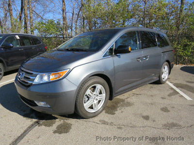 2011 Honda Odyssey 5dr Touring 5dr Touring 4 dr Van Automatic Gasoline V6 Cyl Polished Metal Metallic