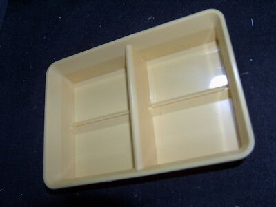 2 Deck  Playing Card Tray  YELLOW   c15
