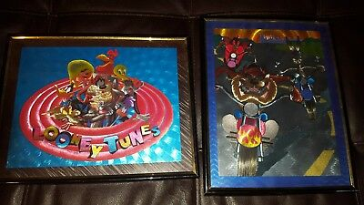 Looney Tunes Animated Pictures Framed