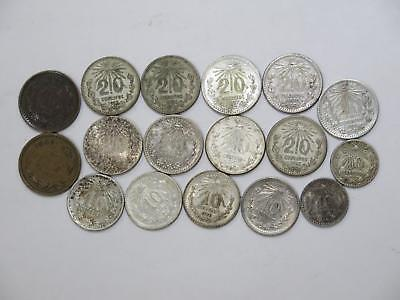 Mexico 20 10 Centavos 1 Centavo Cap & Rays Mix Type World Coin Collection Lot X