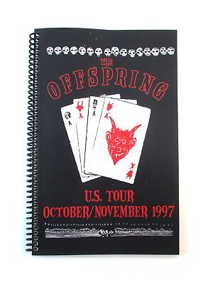 OFFSPRING US Tour October/November 1997 Band & Crew Itinerary Book