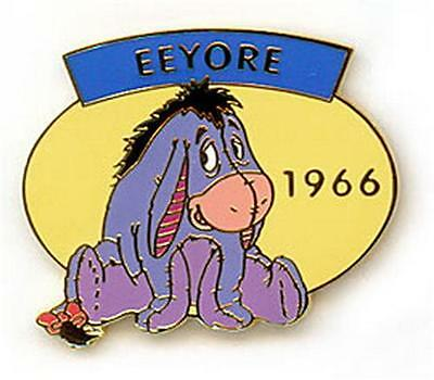 Eeyore Donkey dated 1966 Winnie Pooh Authentic Disney pin