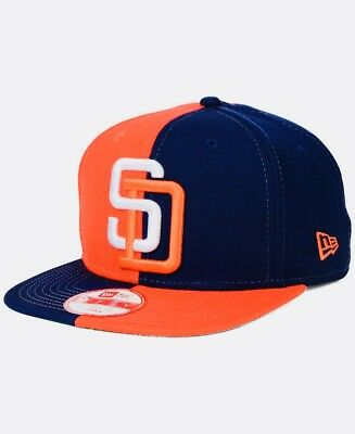 142c98da San Diego Padres New Era 9Fifty Snapback Baseball Hat Mlb Official Club Cap  New