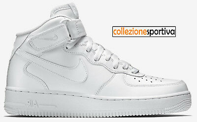 100% authentic 3f513 3afa4 SCARPE UOMO DONNA NIKE AIR FORCE 1 ONE MID 07 - 315123-111 col