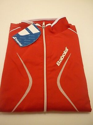 Babolat Men's Tennis Club Jacket Red  - New  - Small