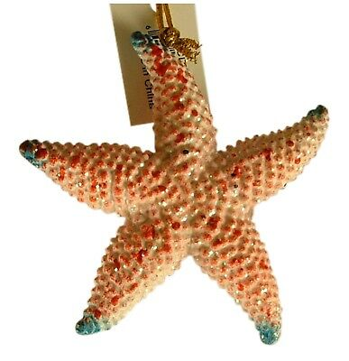 Tropical Sea Star Starfish Ocean animal Christmas Ornament 4 Inches 08