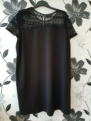 Maternity Dress Size 18 New Look  Black