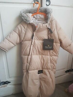 Elodie Details Dusty Pink Car Seat Overall Bnwt 6-12 Months