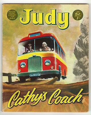 Judy Picture Library - Cathy's Coach - No 82 - 1970