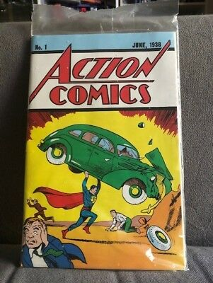 Action Comics #1,vol.1-Loot Crate Exclusive Reprint-Includes Coa