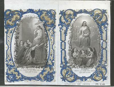 Image Pieuse Holy Card Santino Andachtsbild Bes Dubreuil Pl158
