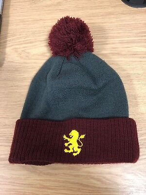 Aston Villa Official Merchanidse Wooly Hat With Bobble
