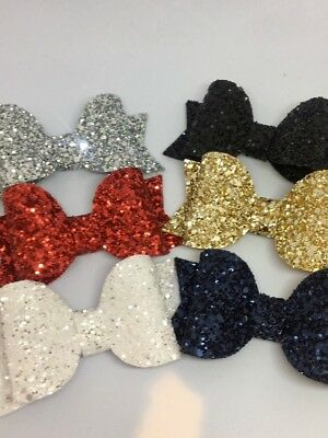 Handmade sparkle glitter baby/girls hair clip or headband party/photo/occasion