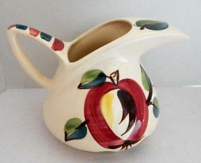 Vintage 12 Cup PURINTON POTTERY Large PITCHER With Open APPLE Design