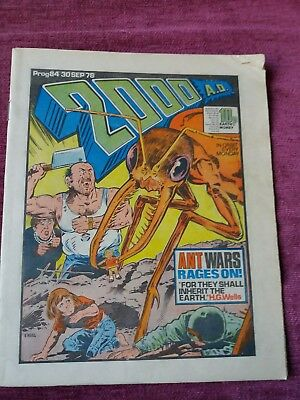 2000AD Prog 84-88 Bundle *86+ STARLORD And 2000AD combine*