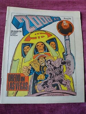 2000AD Prog 79-83 Bundle