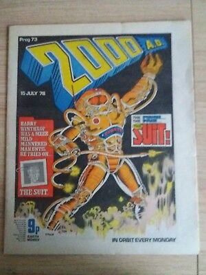 2000ad Bundle Progs 73-76