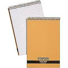 """Staples Recycled Steno Book, 6"""" x 9"""" Note Pad"""
