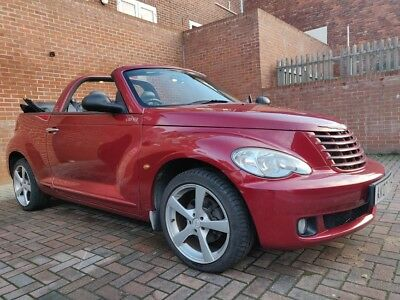 Chrysler Pt Cruiser Cabriolet Red Convertible 2007 Limited Automatic Rare