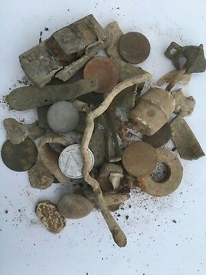 Ancient/GROUP OF INTERESTING  METAL DETECTOR FINDS FROM Norfolk Field No7