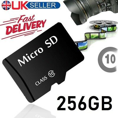 New 128GB Micro SD Card Class 10 TF Flash Memory SDHC SDXC - 128G -UK SELLER