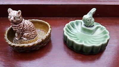 Two Cute Wade Whimsey Trinket Dishes