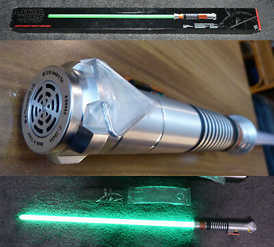 Star Wars  The Black Series Luke Skywalker Force FX Lichtschwert lightsaber grün