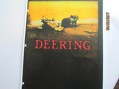 Deering Equipment Machines Catalog. International Harvester