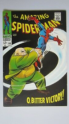 The Amazing Spider-Man #60 (May 1968) VF!!  Stan Lee Writer! $1.00 MIN BID!