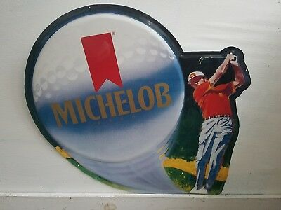 Vintage large Michelob Beer Golf 1990 Sign