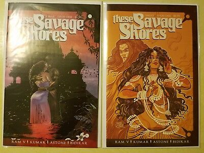 These Savage Shores (Vault) #1 NM A Cover Plus Exclusive Variant Low Print Run