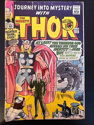 Journey Into Mystery With The Mighty Thor #113