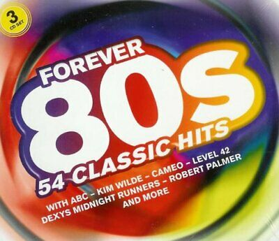 Various : Forever 80 S: 54 Classic Hits CD