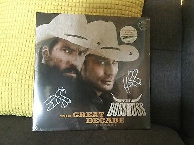 The Bosshoss The Great Decade 2006-2016 Handsignierte Vinyl Edition