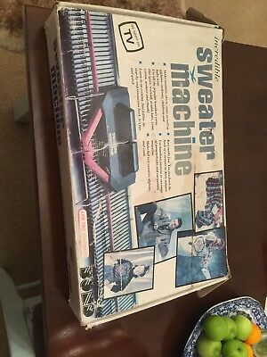 Retro BOND Incredible Sweater Machine Also Makes Other Items BOXED - N23