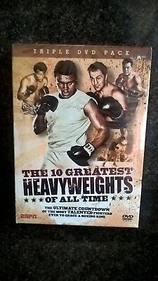 New Triple DVD Pack The 10 Greatest Heavy Weights Of All Times - ESPN