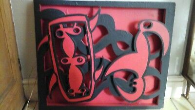 wood art picture abstract 3d  Bill Greenhalgh