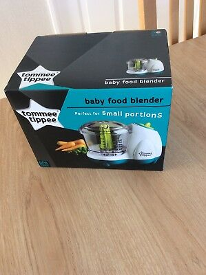 tommee tippee explora baby food blender new never used